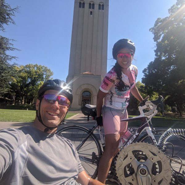 50 mile ride from San Jose to Stanford